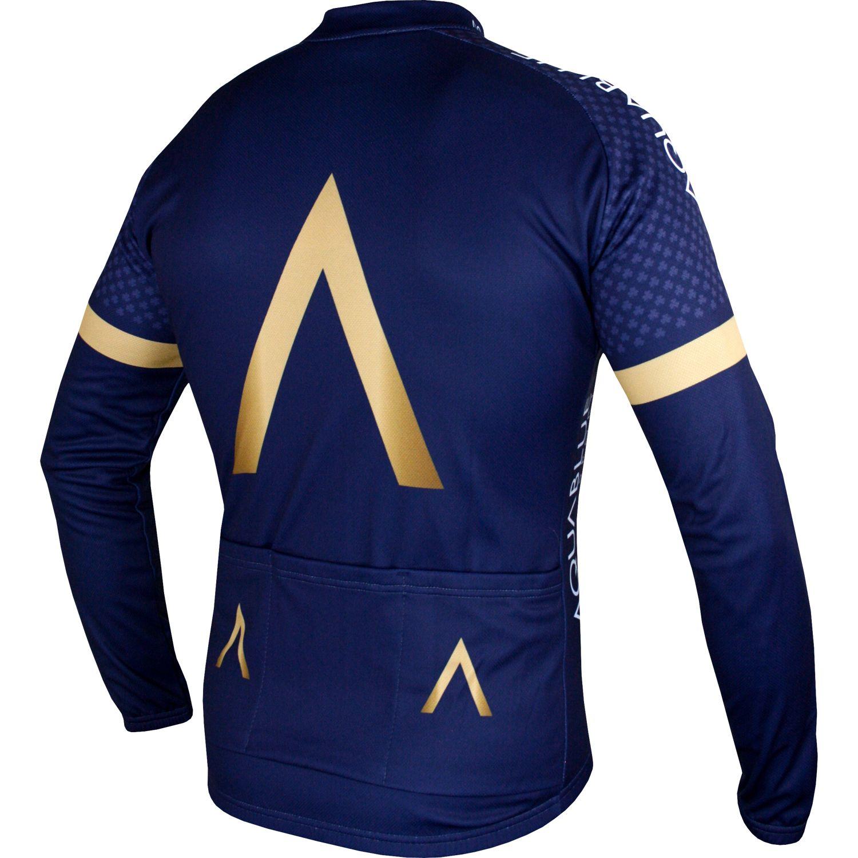 ba25ec2d9 AquaBlue Sport 2018 long sleeve cycling jersey - Vermarc professional  cycling team. Next
