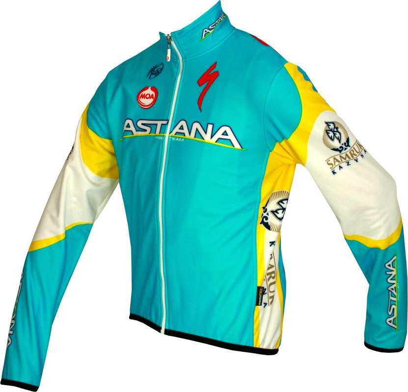 ASTANA 2012 MOA professional cycling team - jacket winterjacket. Previous 8317a8373