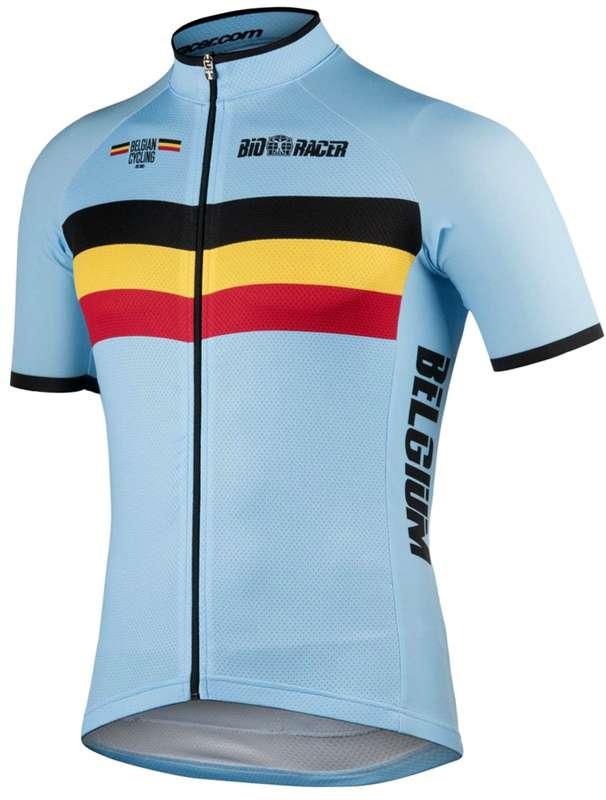 515759aa3 BIORACER BELGIUM 2019 set - (jersey long zip + strap trousers) - national  cycling team