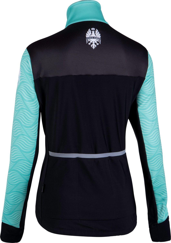 Bianchi Milano Ora womens winter cycling jacket celeste (I18-4300). Next 6a22e427b