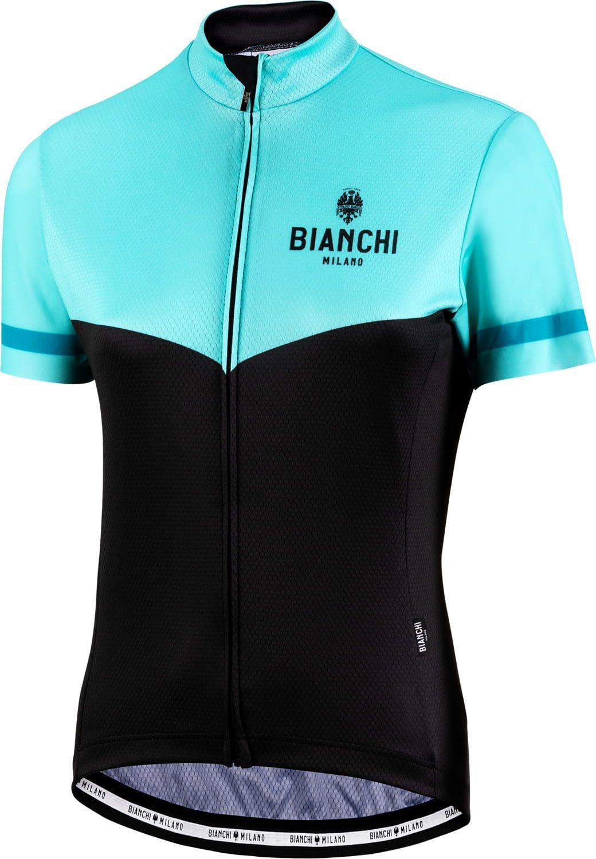Bianchi Milano womans cycling set (jersey GINOSA + cycling shorts AVOLA)  celeste black. Previous 2440ac835