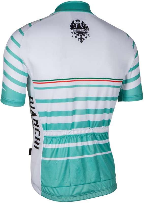 6b1624ea1 Bianchi Milano ALBATROS short sleeve cycling jersey white (E17-4300). Next