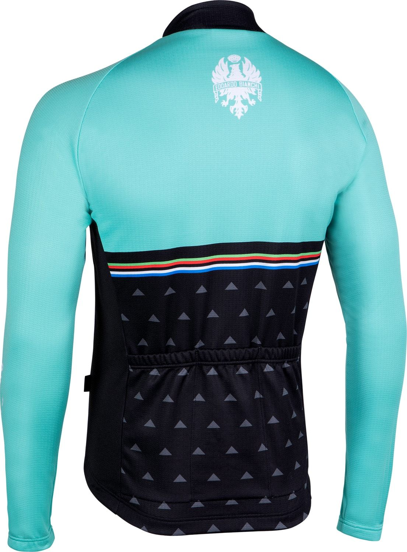 e1a29296e09 BIANCHI MILANO Nalles long sleeve cycling jersey celeste (I18-4300)