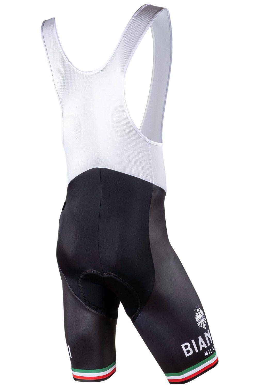 NEW 2020 Bianchi Milano PELAU Cycling Bib Shorts BLACK