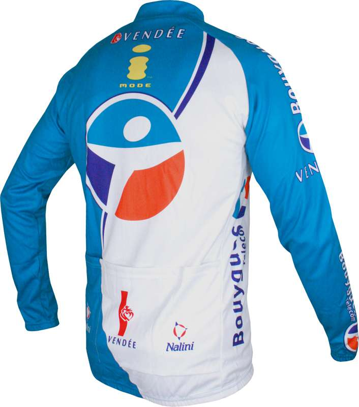 f4ef50cef Bouygues Télécom 2006 cycling-tricot (jersey long sleeve) - Nalini  professional cycling team. Next