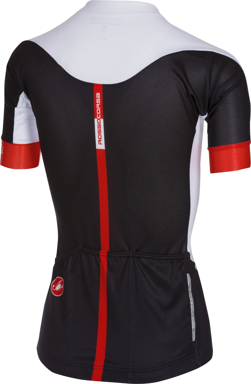 ef6b19526 Castelli AERO RACE W - womens short sleeve cycling jersey black white.  Previous
