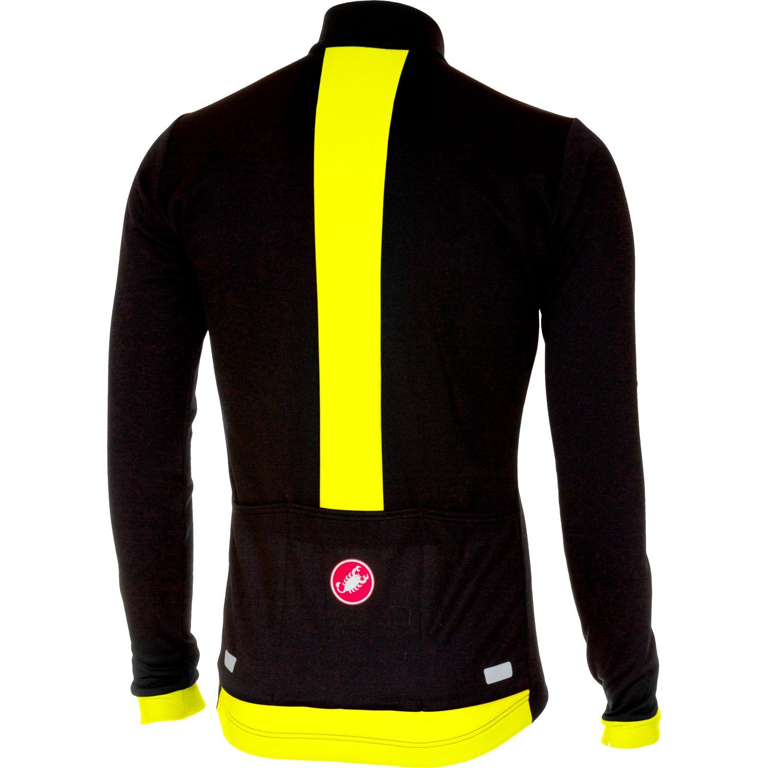 Previous. Castelli FONDO long sleeve cycling jersey black yellow fluo · Castelli  FONDO long sleeve cycling jersey ... 01429cd0f