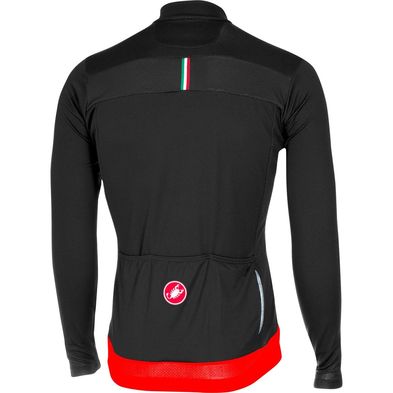 d2ae7a3f4 Previous. Castelli PROLOGO V long sleeve cycling jersey black red · Castelli  PROLOGO V long sleeve cycling jersey black red