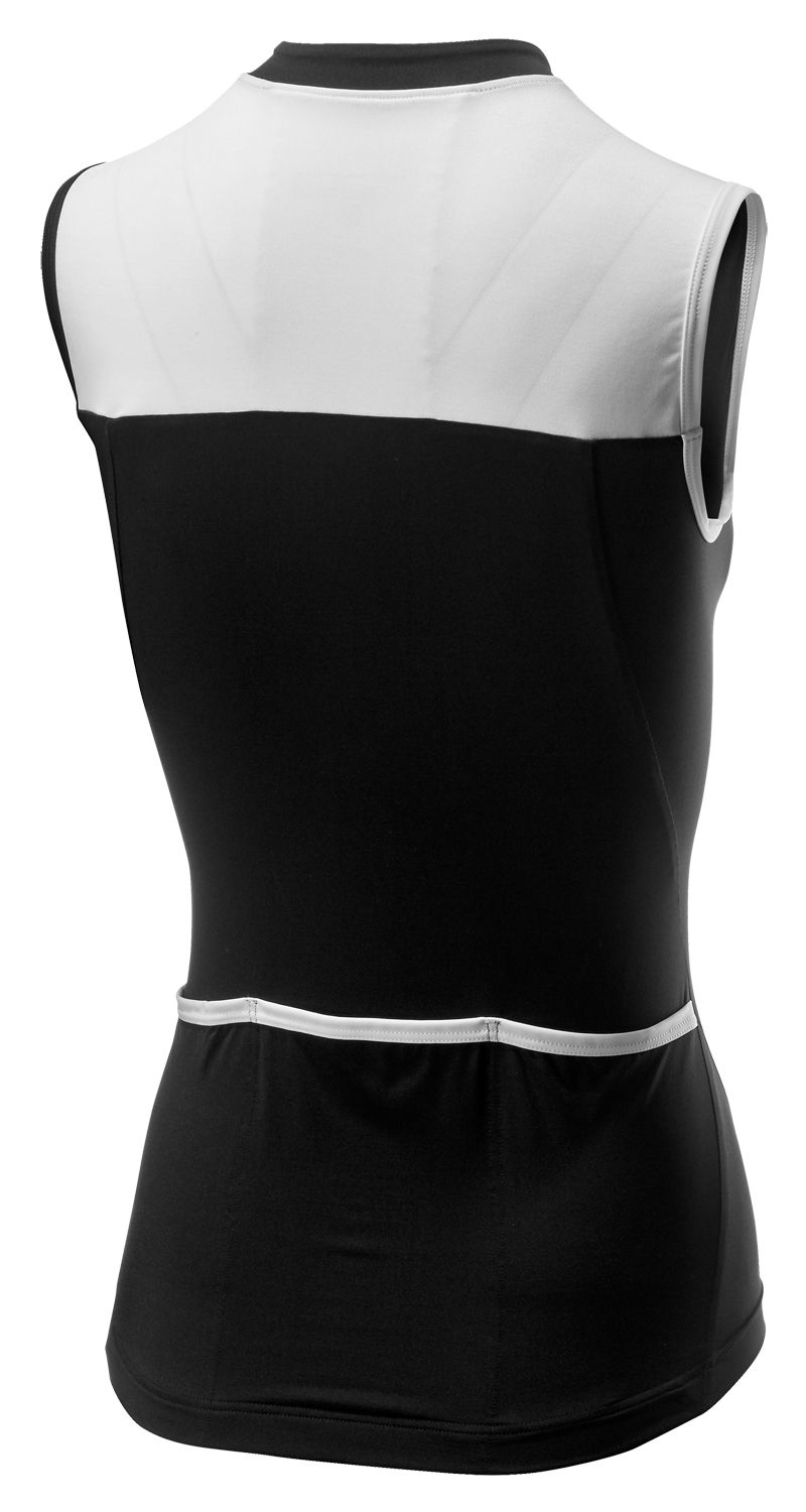 726466bb2 Castelli PROTAGONISTA 2 sleeveless cycling jersey back white. Next