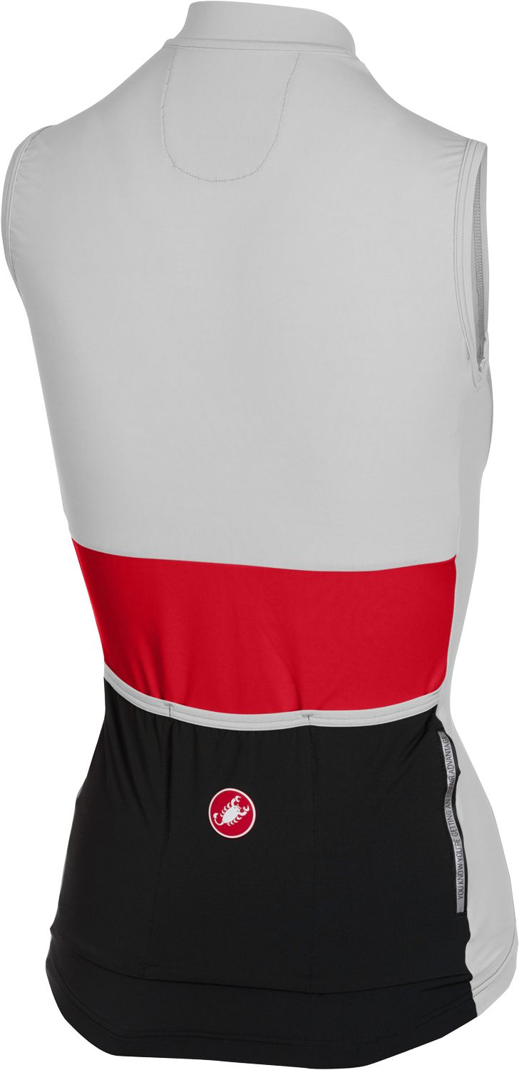 ff2b78632 Castelli PROTAGONISTA - womens sleeveless cycling jersey black. Next