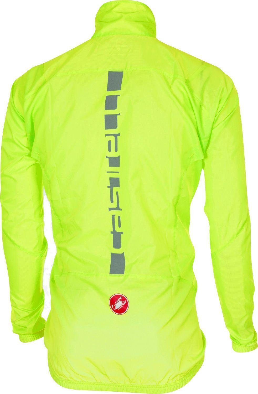 online store 976c7 7c418 SQUADRA ER JACKET - Fahrrad Windjacke neongelb