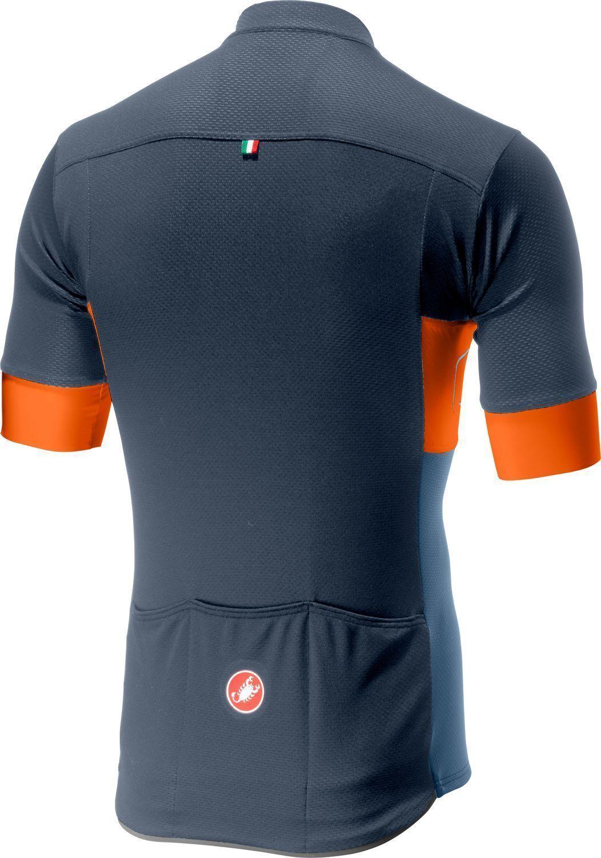 5a0dbcbdd ... cycling jersey dark steel blue orange light steel blue. Next