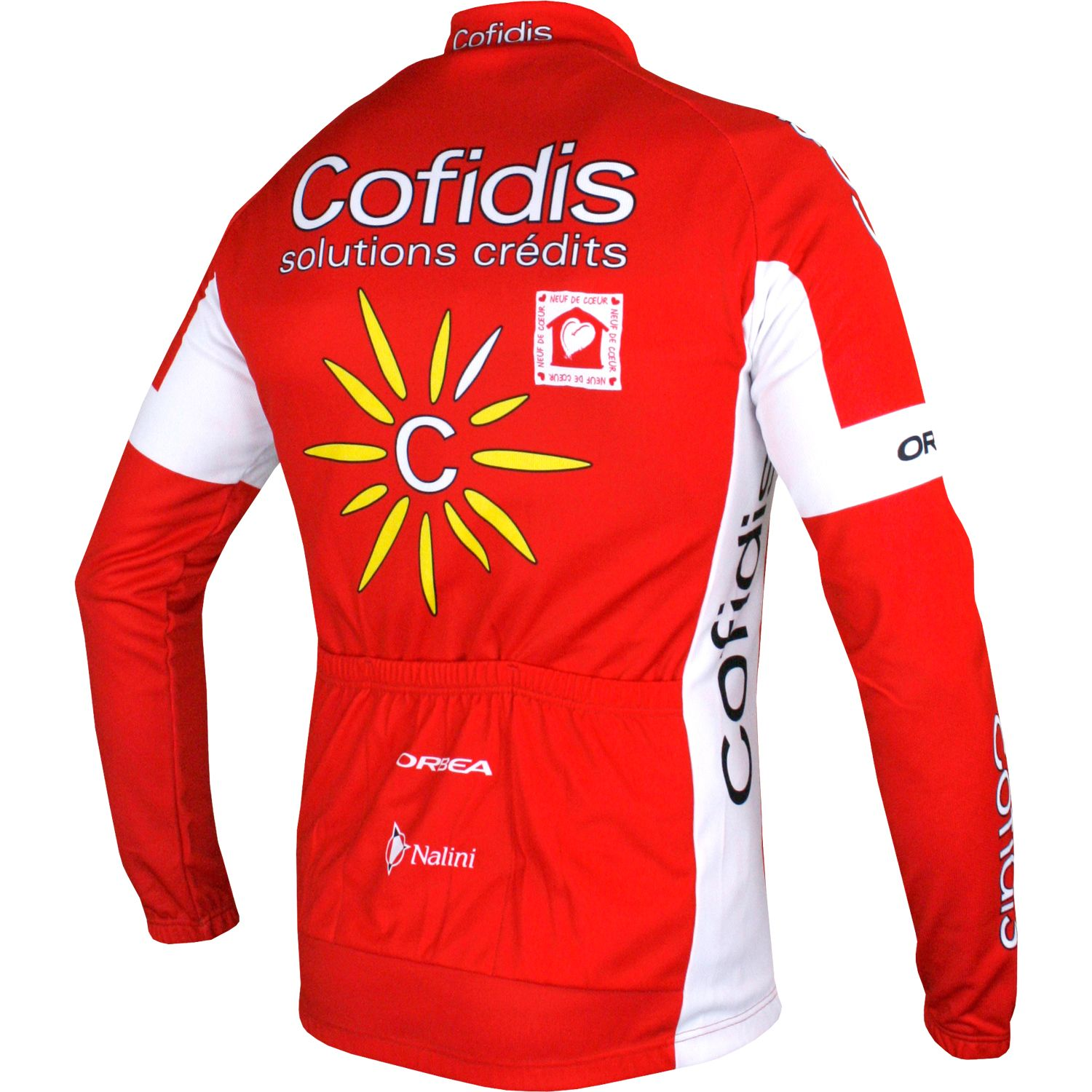 COFIDIS 2017 long sleeve cycling jersey - Nalini professional cycling team.  Next 07dd3d2bf