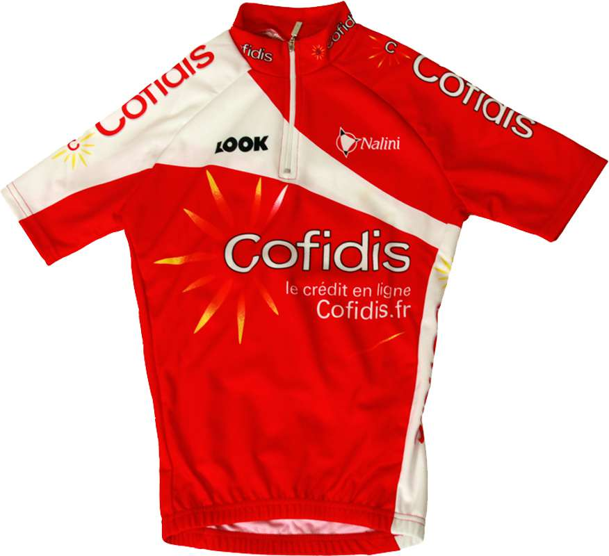 83a984bb7 Cofidis 2012 Nalini professional cycling team - cycling set for kids (jersey