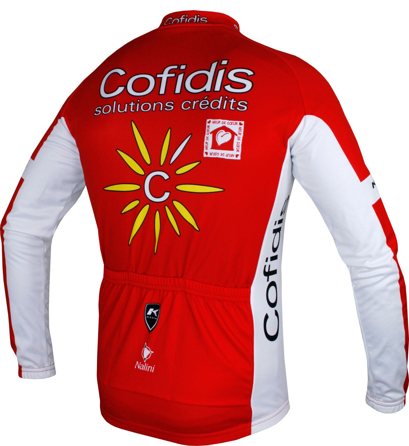 COFIDIS 2018 long sleeve cycling jersey - Nalini professional cycling team.  Next f1a53e2dd