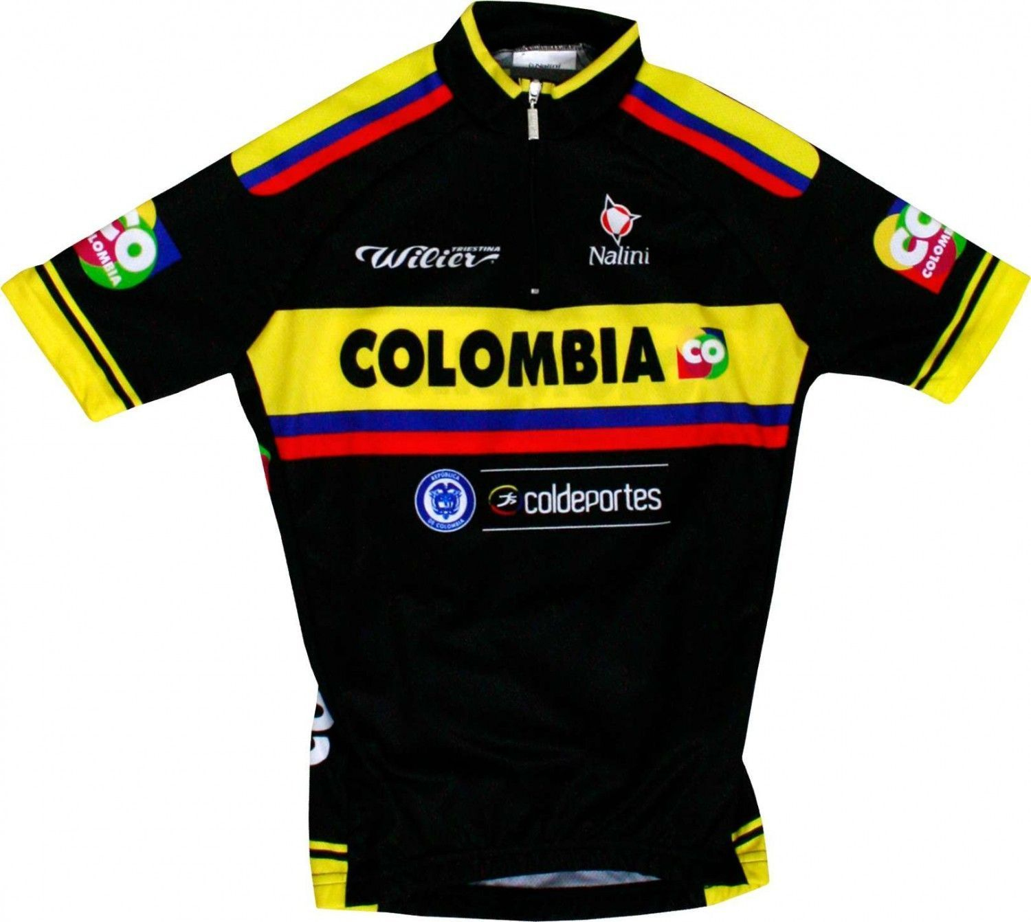 ff1278546 COLOMBIA 2015 cycling set for kids (jersey