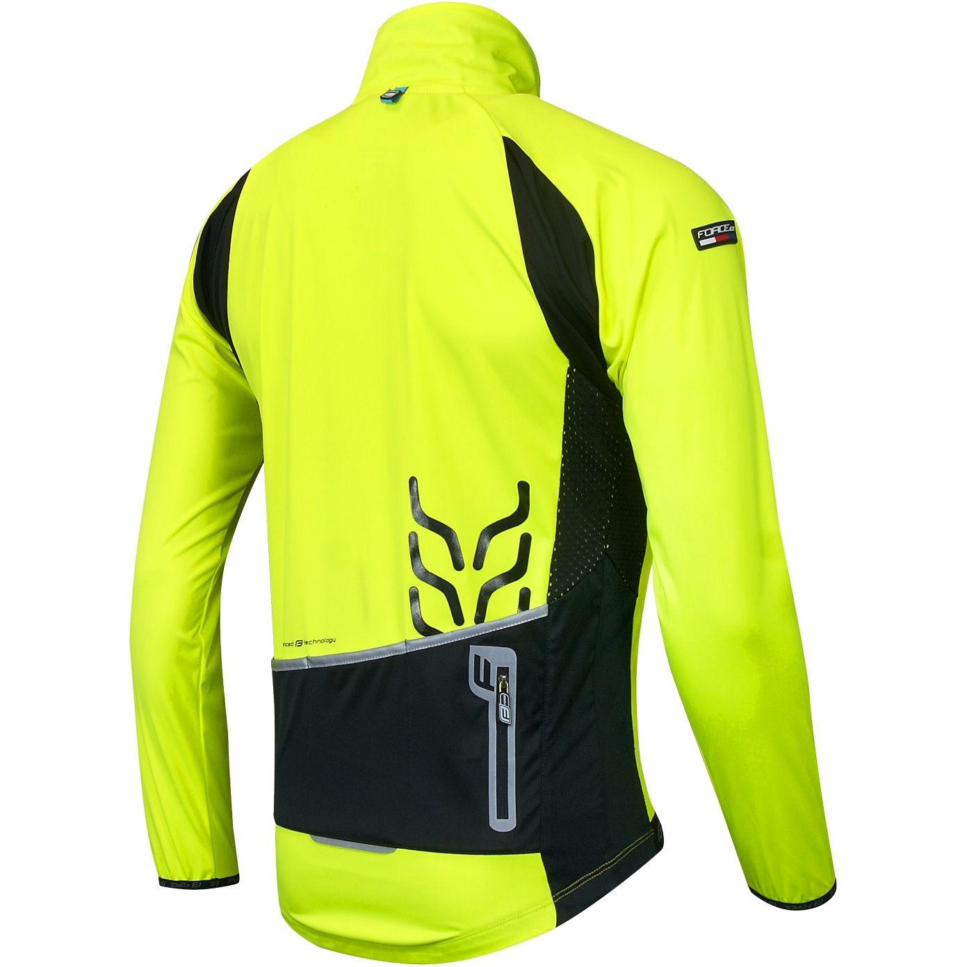 2014f9fb6 Force X80 Softshell cycling jacket yellow fluo (90006). Previous