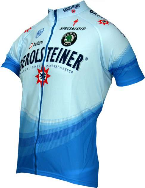 8f1d3172f Gerolsteiner 2006 Nalini professional cycling team - cycling jersey with long  zip. Next