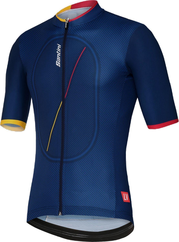 Maillot ciclista manga corta La Vuelta 2018 - Kilometro Cero etapa ... 17f50f3ac5427