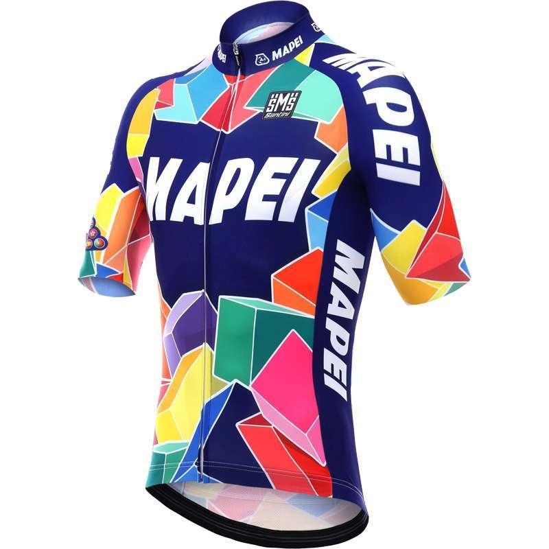 MAPEI Retro short sleeve cycling jersey - Santini professional cycling  team. Next fe0cbebcc