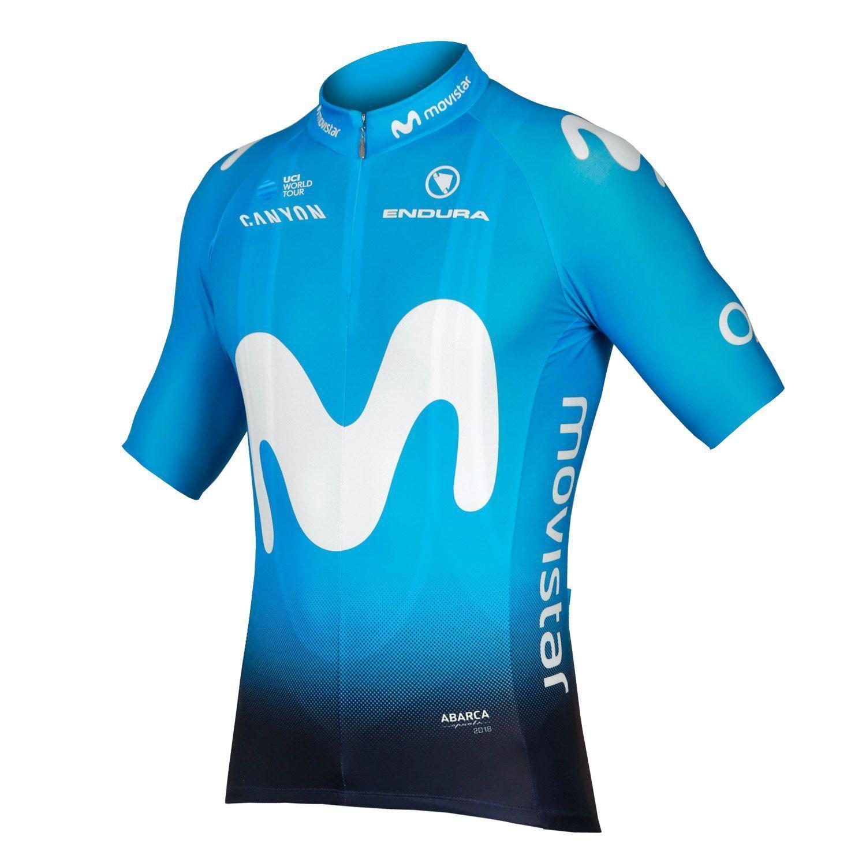 bceb69c9b MOVISTAR 2018 set (jersey + bib shorts) - Endura professional cycling team.  Previous
