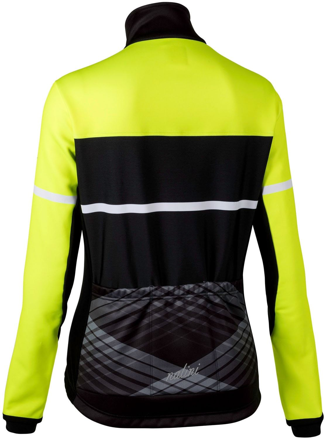 a7c0658c0 Nalini PRO WS Lady Jkt womens winter cycling jacket black yellow (I18-4050.  Previous