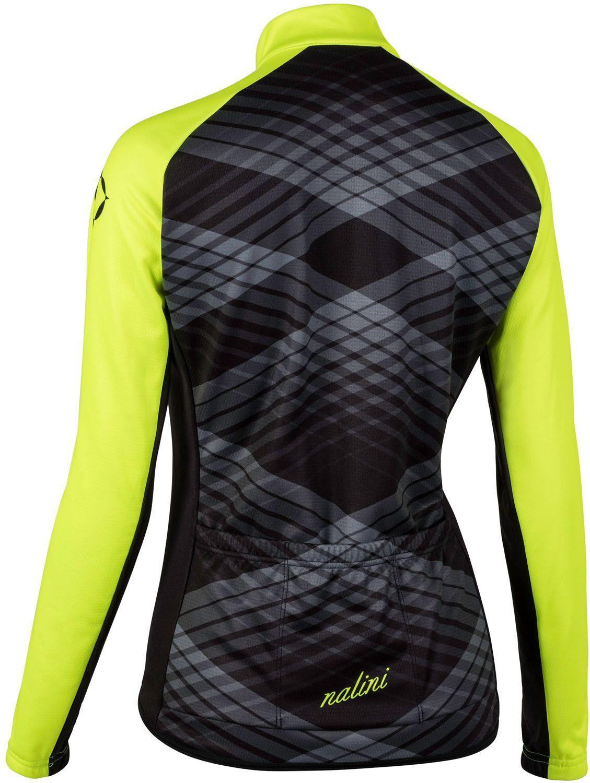 c8c662609 Nalini PRO Lady Ti womens long sleeve cycling jersey black yellow (I18-4050.  Next