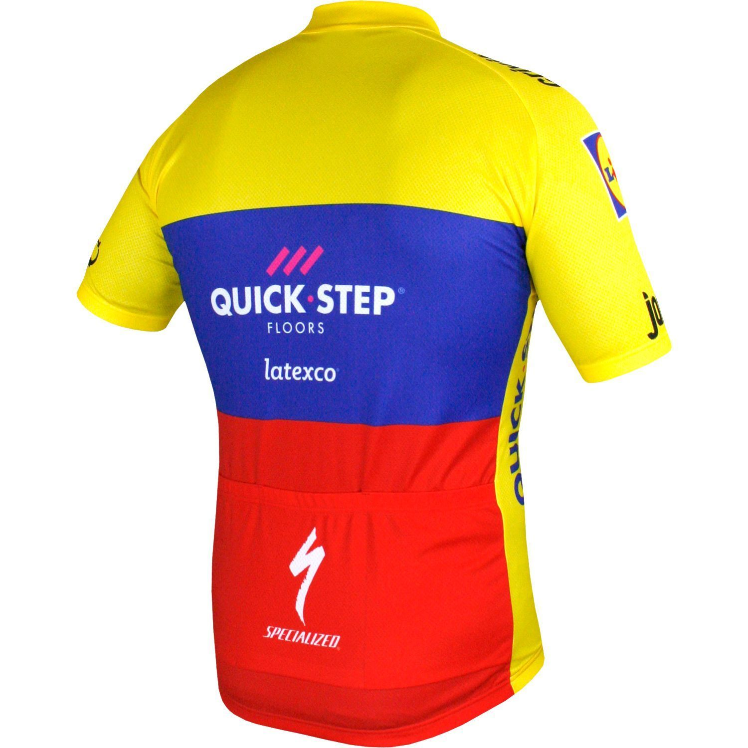 Trikotexpress quick step floors ecuador champ 2018 short for Quick step floors cycling team