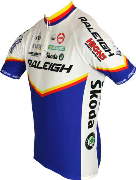 97cfadb6d RALEIGH 2011 MOA professional cycling team - cycling jersey with short zip.  Previous