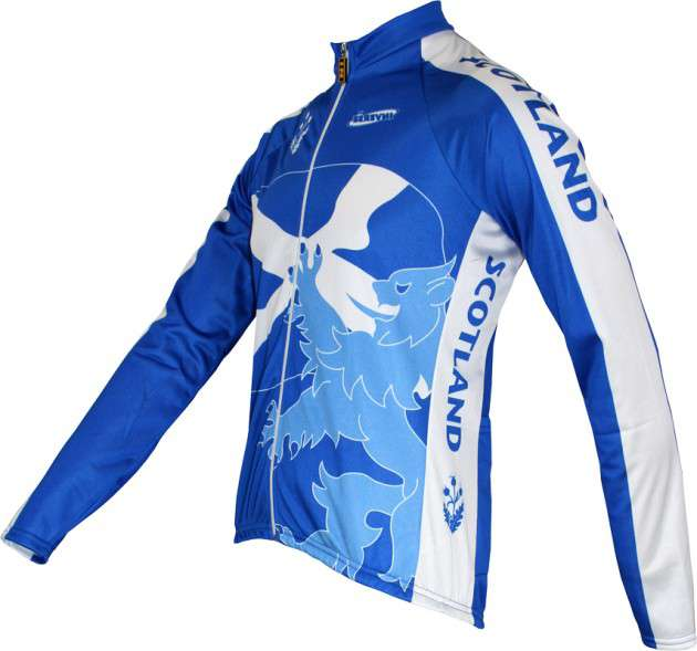 SCOTLAND Inverse professional cycling team - cycling long sleeved jersey.  Next 48a4b61d1