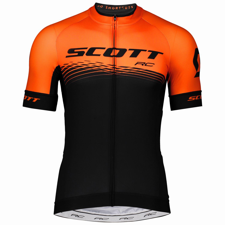 Scott RC PRO cycling set (short sleeve jersey long zip + bib shorts) black.  Previous 5cac9232d