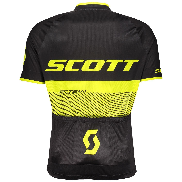 Maillot ciclista manga corta RC TEAM 20 s/sl Shirt (negro/amarillo  néon-264832) - Scott
