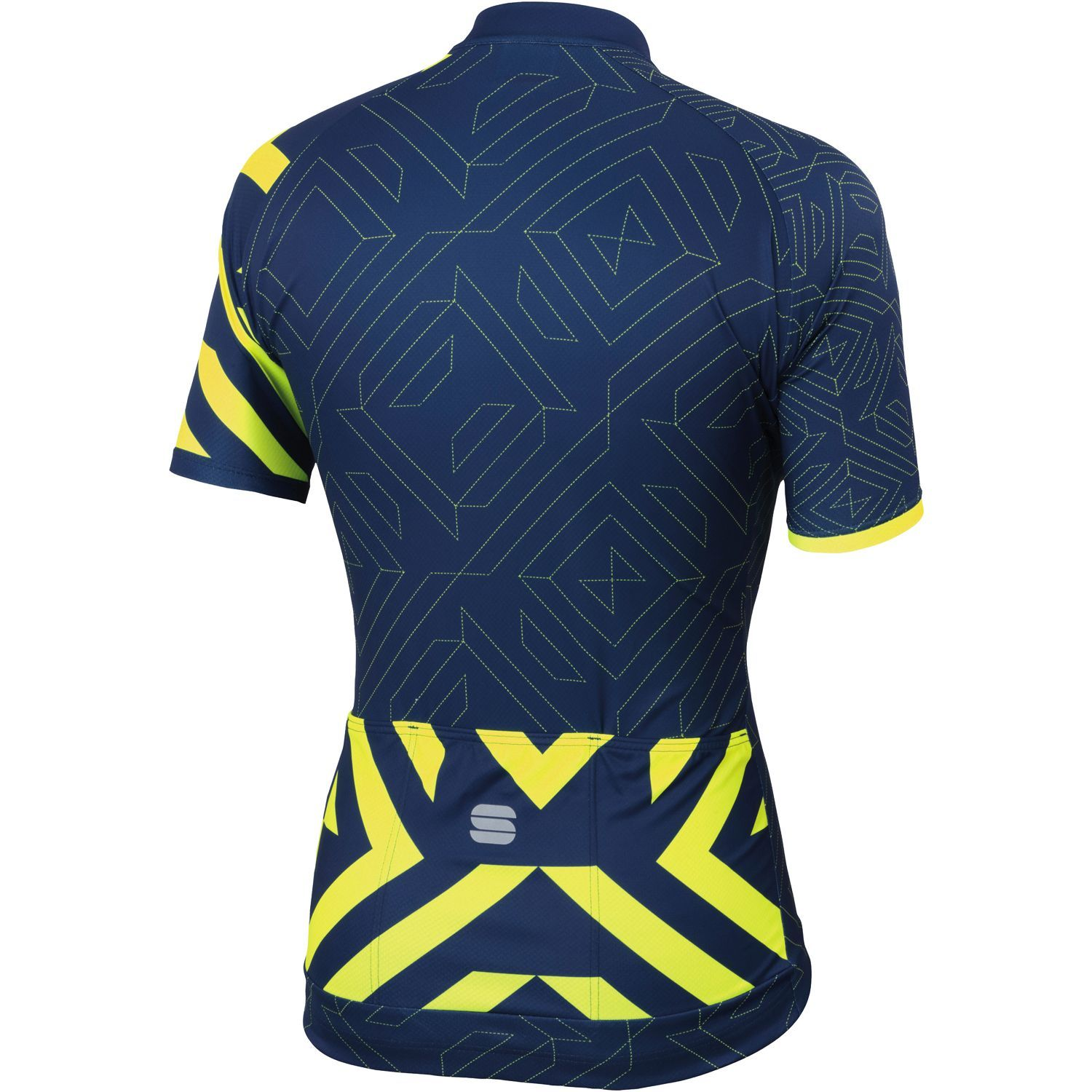 Previous. Sportful PRISM short sleeve cycling jersey blue fluo yellow · Sportful  PRISM short sleeve cycling jersey ... 1084992b2