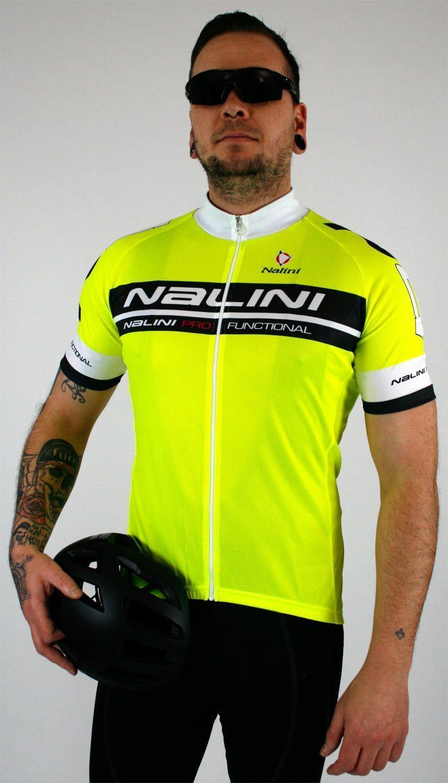 Nalini KENTY short sleeve cycling jersey yellow fluo (E19-5053S). Previous fda8466ab
