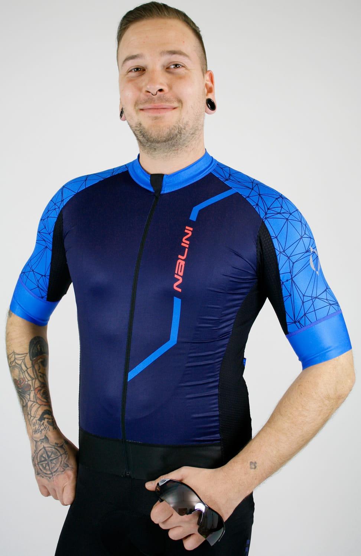 Nalini VELOCITA 2.0 short sleeve cycling jersey blue (E19-4200). Previous 8d7d1a363