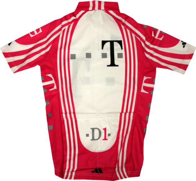 c39654d09 ADIDAS Telekom professional cycling team - cycling jersey for kids