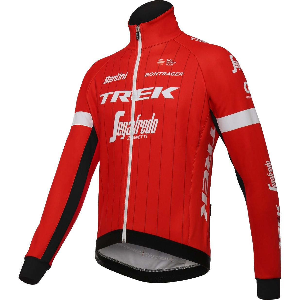 TREK - SEGAFREDO 2018 winter cycling jacket - Santini professional cycling  team. Next 6e1618574