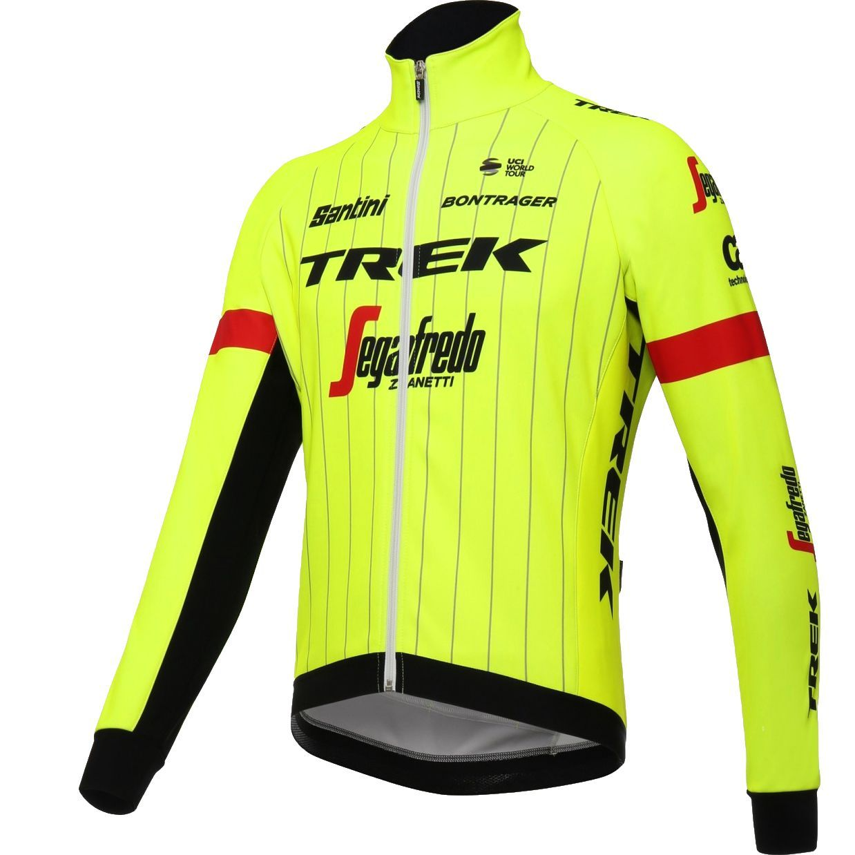 TREK - SEGAFREDO 2018 training edition winter cycling jacket - Santini  professional cycling team. Next e63149996