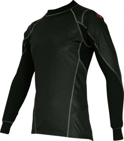 Vangard Langarmshirt mit Windprotection - 1352 schwarz - Funktionsunterwäsche