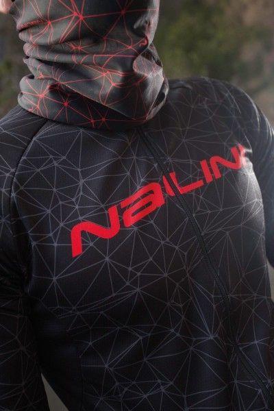 Nalini PRO Nalini Collar 2.0 Schlauchtuch schwarz/rot (I18-4100) Universalgröße