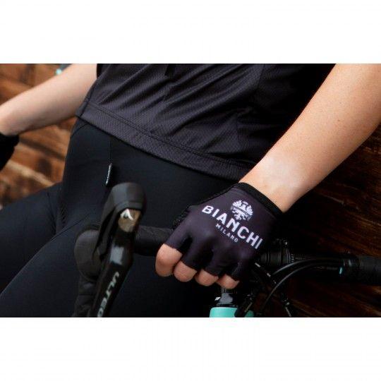 Bianchi Milano Divor Kurzfingerhandschuh schwarz (E19-4000) Größe XL (10)