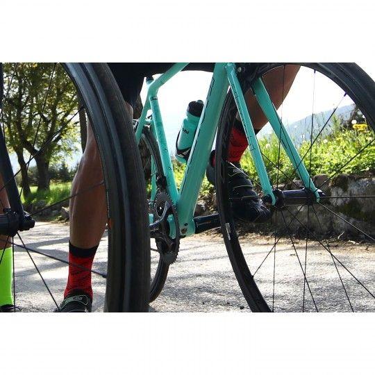 Actionbild Nalini FULMINE 2.0 Radsocken rot