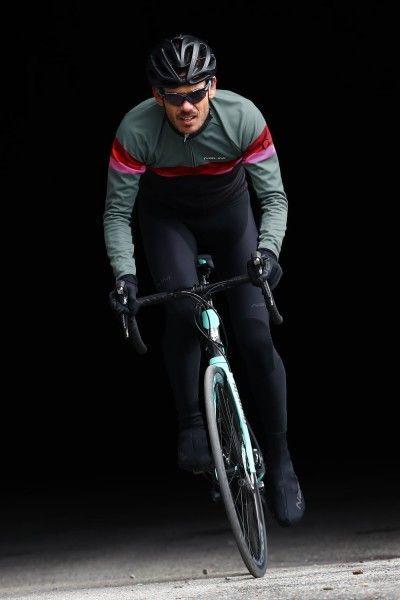 Actionbild1 Nalini Winterjacke Crit Warm Jacket 2.0 schwarz/grün