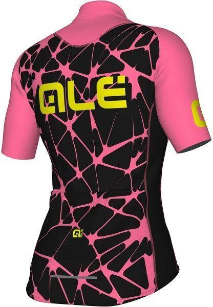 Alé CRACLE LADY - Damen Radtrikot kurzarm pink/schwarz 2