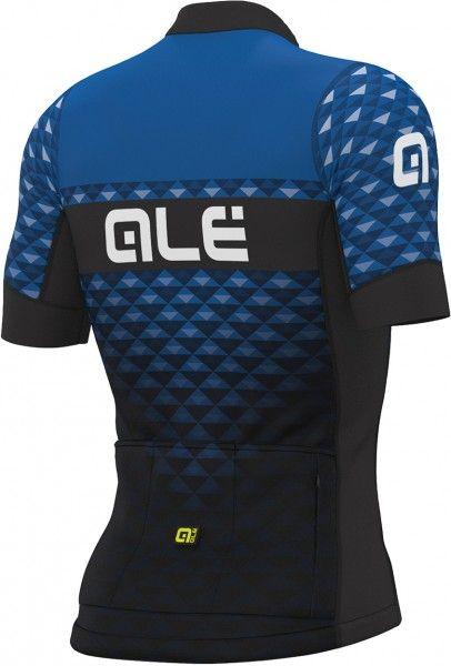 Alé HEXA Radtrikot kurzarm schwarz/blau 2