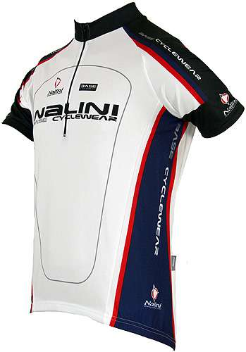 Nalini Base cycling jersey for kids ANTRACITE white