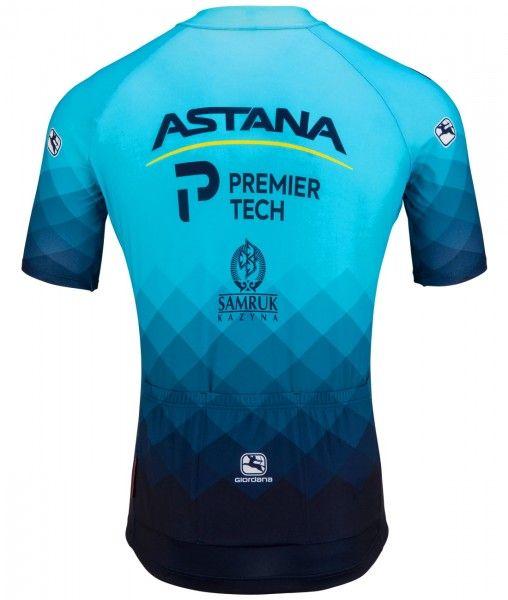Astana - Premier Tech 2021 Radtrikot kurzarm 2