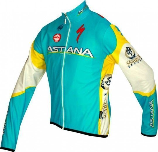 ASTANA 2012 MOA Radsport-Profi-Team - Radsport-Winterjacke