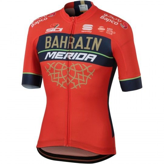 BAHRAIN MERIDA 2018 Radtrikot 1