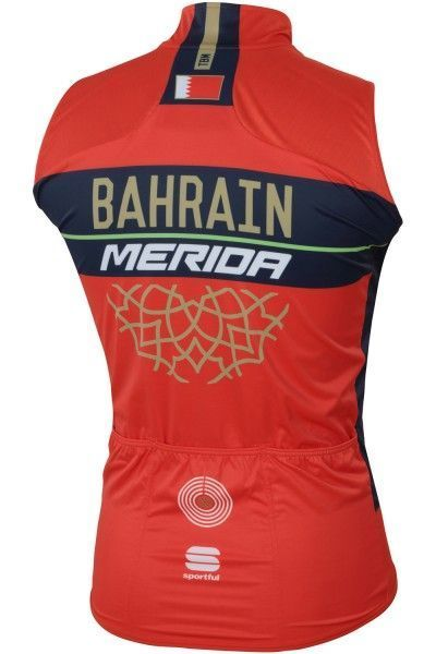BAHRAIN MERIDA 2018 Weste 2